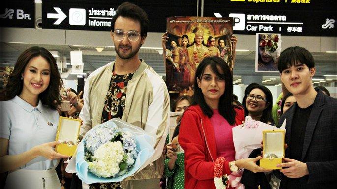 ช่อง 3 ต้อนรับ ซอรับ ราจ ไจน์ และ ปูจา ชาร์มา คู่พระ-นางซีรีส์อินเดีย มหากาลีฯ