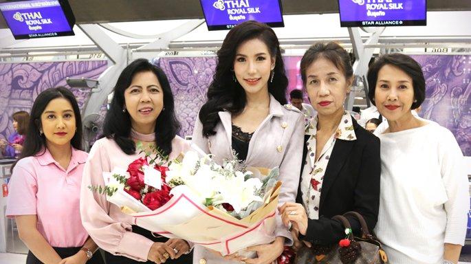 เทวี ฤาชนก บินลัดฟ้าร่วมประกวดมิสไชนีสฯ 2019 ที่ฮ่องกง