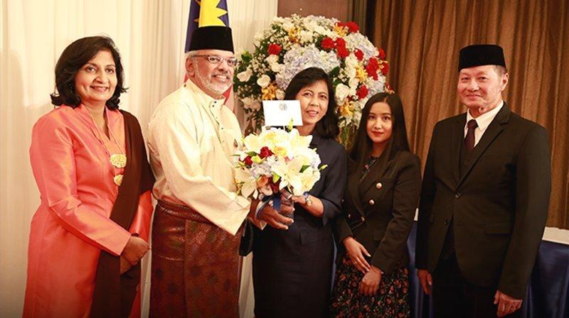 ตัวแทนช่อง 3 ร่วมงานฉลอง 62 ปี วันชาติมาเลเซีย ประจำปี 2562