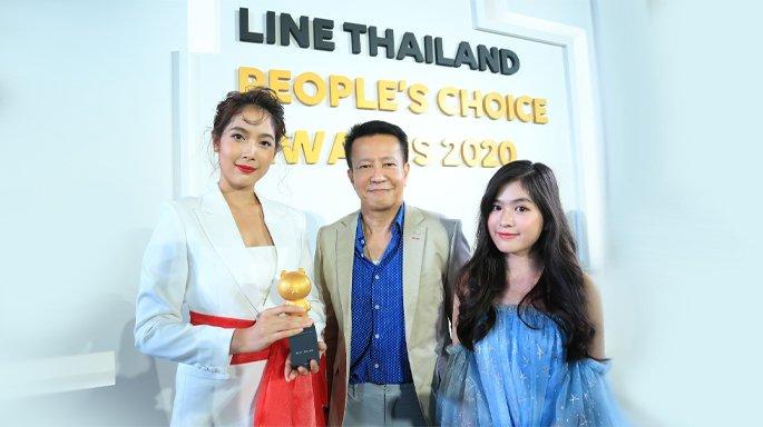 สถานีโทรทัศน์ไทยทีวีสีช่อง 3 ได้รับรางวัล Best Drama (รางวัลสติกเกอร์ละครยอดเยี่ยมแห่งปี)