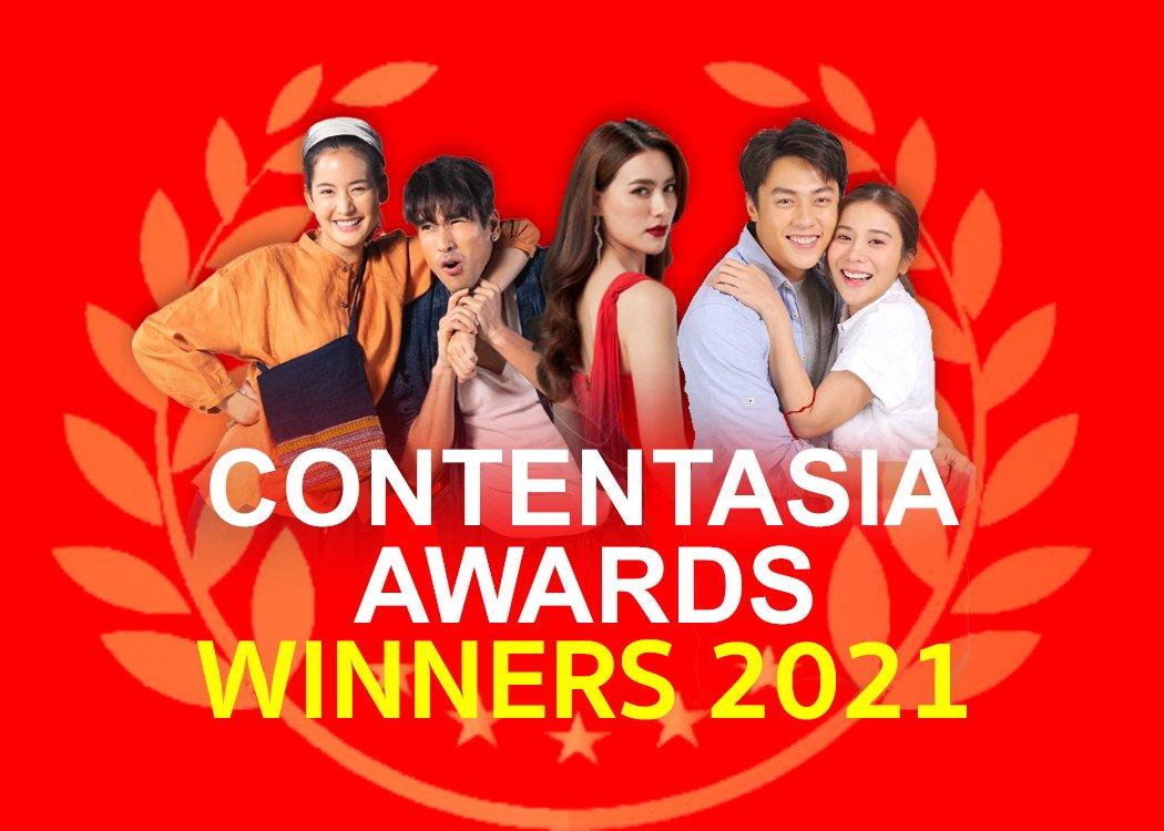 """สุดพีค! """"CONTENTASIA AWARDS 2021"""" ช่อง 3 คว้า 3 รางวัลยอดเยี่ยม! เวทีระดับเอเชีย ละครยอดเยี่ยม นักแสดงนำหญิงยอดเยี่ยม และเพลงประกอบละครยอดเยี่ยม"""